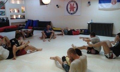 snimak treninga BJJ Akademija Zarlock treniranje